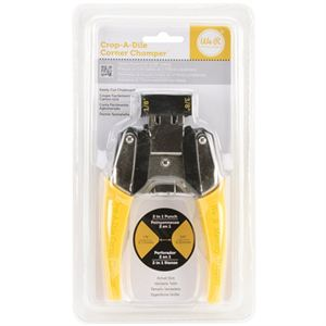 """Picture of *50% OFF* Corner Chomper Corner Rounding Tool, 1/8"""" and 3/8"""" (Yellow) *SALE* WHILE SUPPLIES LAST"""